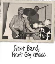 First Band, First Gig (1966)