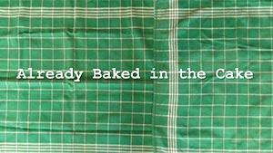 thumbnail Already Baked in the Cake newsflash